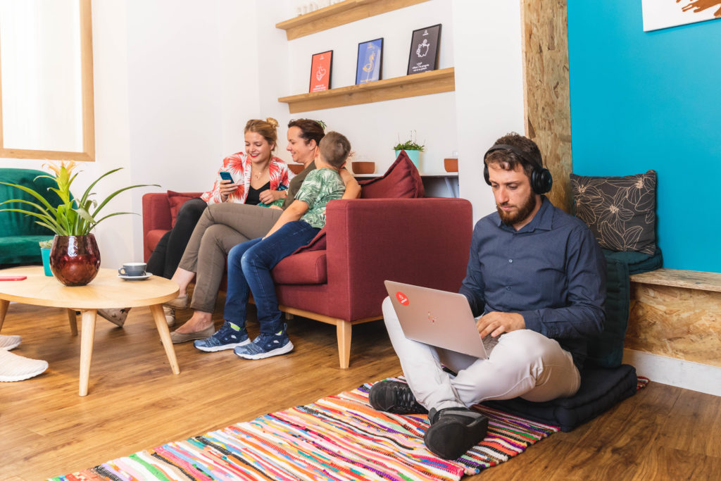 Emplacement espace coworking