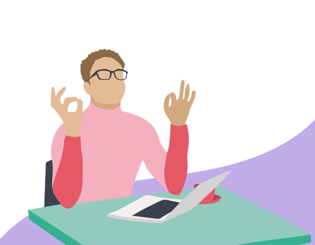 Espace de coworking au mois